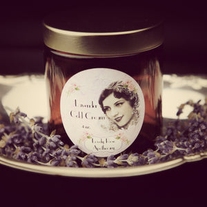 Lavender Cold Cream - The Lovely Rose Apothecary