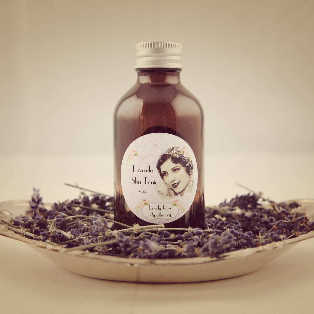 Lavender Skin Tonic - The Lovely Rose Apothecary