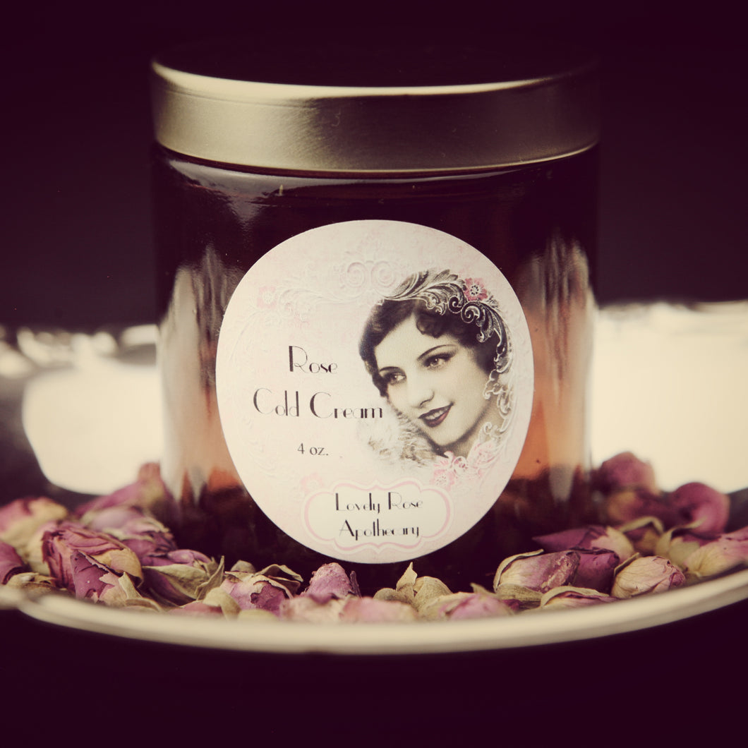 Rose Cold Cream - The Lovely Rose Apothecary