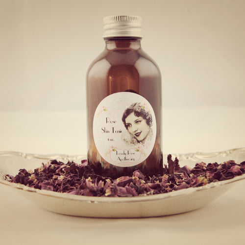 Rose Skin Tonic - The Lovely Rose Apothecary