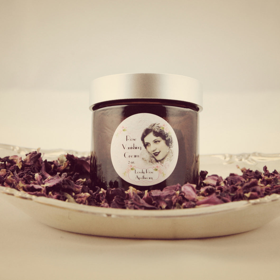 Rose Vanishing Cream - The Lovely Rose Apothecary