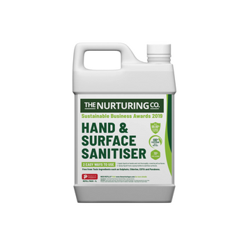 The Nurturing Co - Food Grade Hand and Surface Sanitiser (1LT refill)
