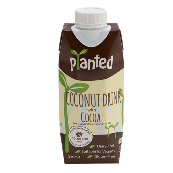 Planted - Coconut Drink with Cocoa 330ml - Everyday Vegan Grocer