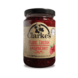 Clarke's - Pure Irish Raspberry Jam 370g