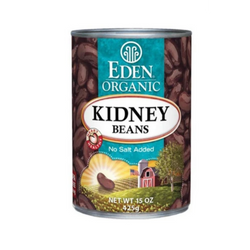 Eden Organic - Kidney Bean (Dark Red) 425g