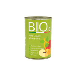 BIO.0 - Organic Canned Mixed Beans 400g