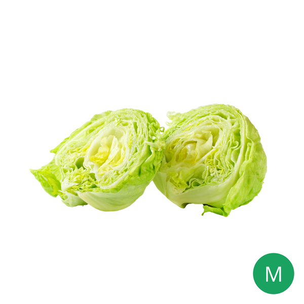 Organic Produce - Iceberg Lettuce Medium (400-500g) - Everyday Vegan Grocer
