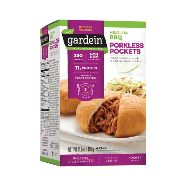 Gardein - BBQ Pulled Porkless Pockets - Everyday Vegan Grocer