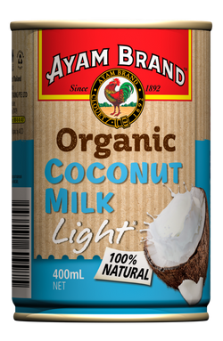 Ayam Brand - Organic Light Coconut Milk 400ml
