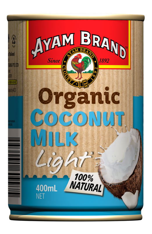 Ayam Brand - Organic Light Coconut Milk 400ml - Everyday Vegan Grocer