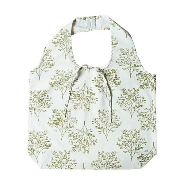 100% Organic Cotton Hampi Bag - Apple Green Duck - Everyday Vegan Grocer