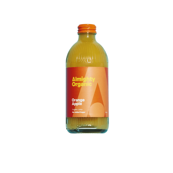 ALMIGHTY - Orange Apple Juice 300ml - Everyday Vegan Grocer