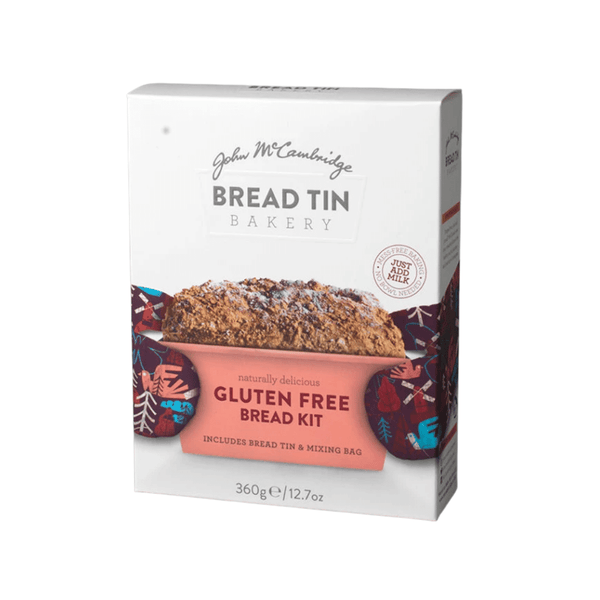McCambridge Bread Tin Bakery - Gluten Free Bread Kit 360g - Everyday Vegan Grocer