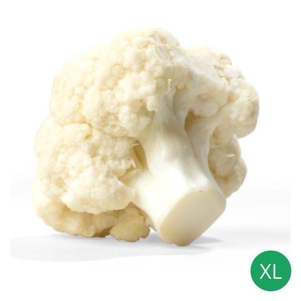 Organic Produce - Cauliflower XL (800-1000g) - Everyday Vegan Grocer