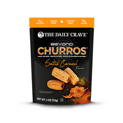 The Daily Crave - Churros Salted Caramel, 4oz