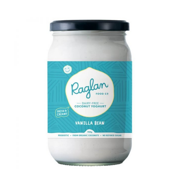 Raglan - Vanilla Bean Coconut Yoghurt 700ml - Everyday Vegan Grocer