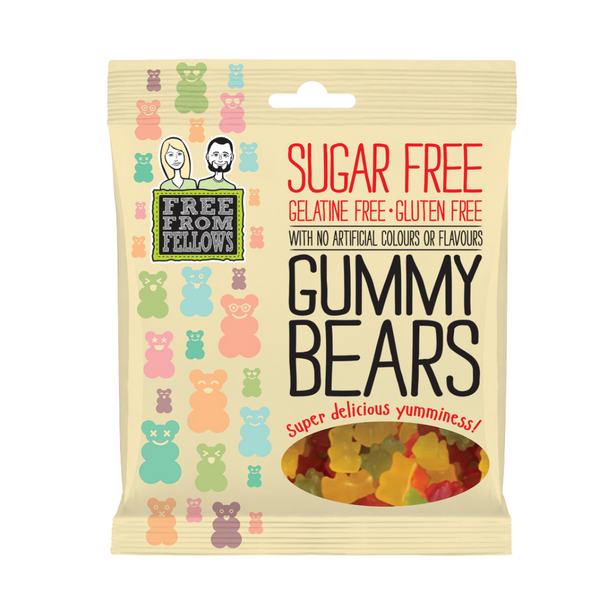 Free From Fellows - Gummy Bears 100g - Everyday Vegan Grocer