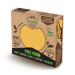 Green Vie - Smoked Gouda Flavour Cheese Block 250g