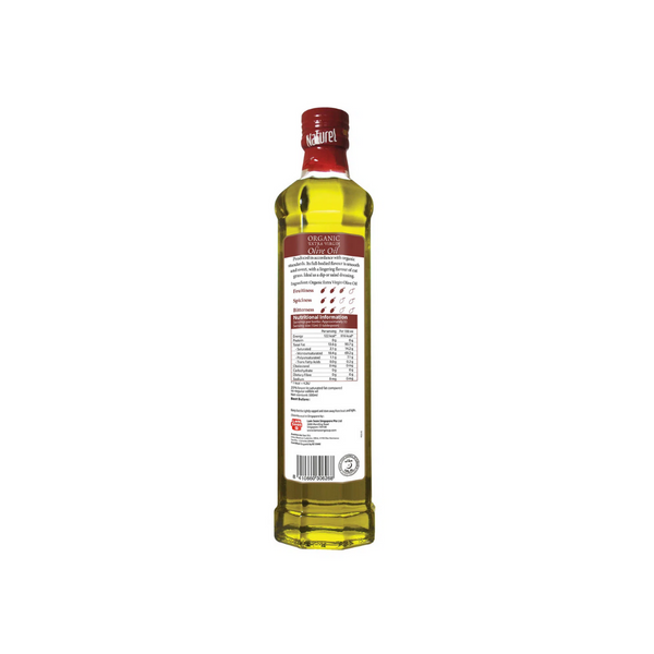 Naturel - Organic Extra Virgin Olive Oil 500ml - Everyday Vegan Grocer