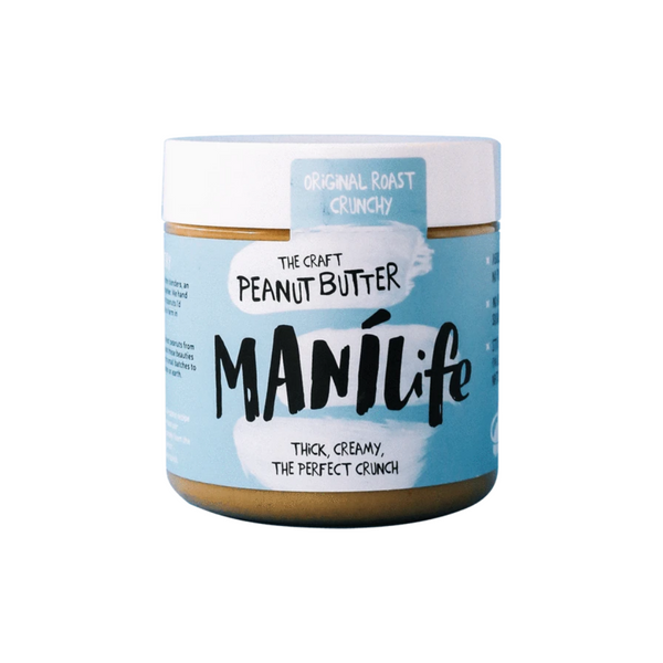 Manilife - Original Roast Crunchy Peanut Butter 295g - Everyday Vegan Grocer
