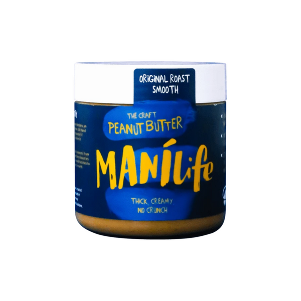 Manilife - Original Roast Smooth Peanut Butter 295g - Everyday Vegan Grocer