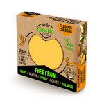 Green Vie - Cheddar Flavour Cheese Block 250g - Everyday Vegan Grocer