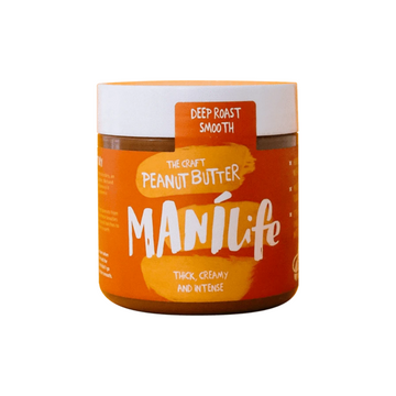 Manilife - Deep Roast Smooth Peanut Butter 295g