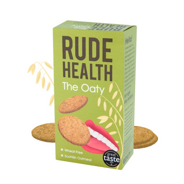 Rude Health - The Oaty 200g Biscuits - Everyday Vegan Grocer