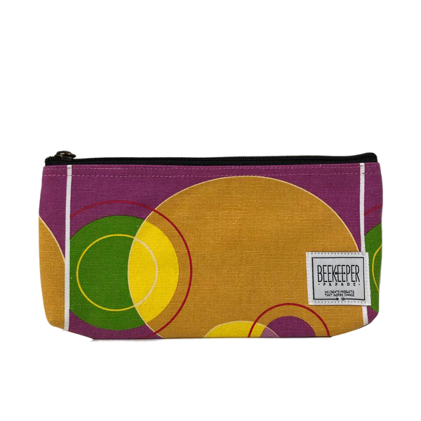 Abstract Painting Pouch - Large - Everyday Vegan Grocer
