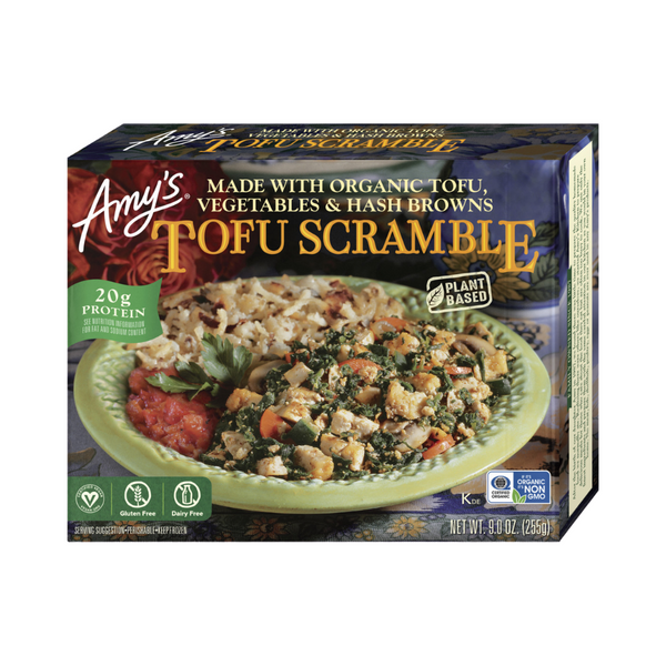 Amy's Kitchen - Tofu Scramble - Everyday Vegan Grocer