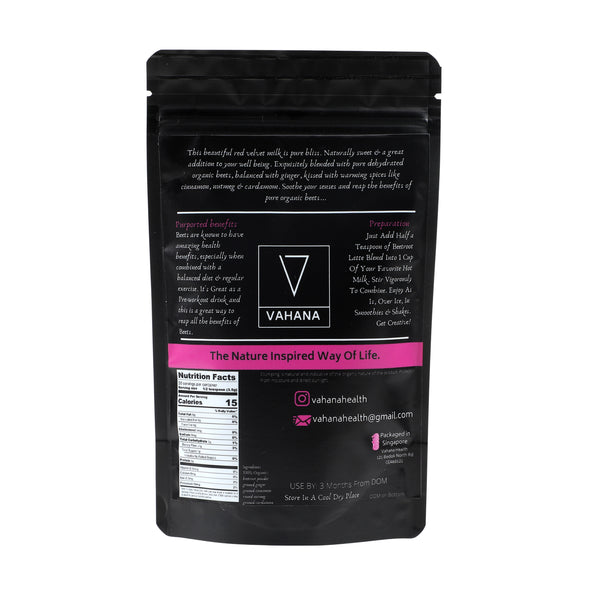 Vahana - Beetroot Latte Blend - Everyday Vegan Grocer