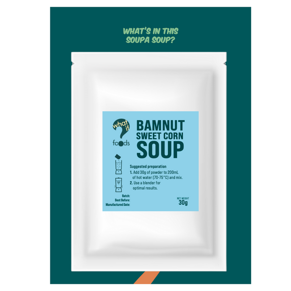 WhatIf Foods - BamNut Sweet Corn Soup - Everyday Vegan Grocer