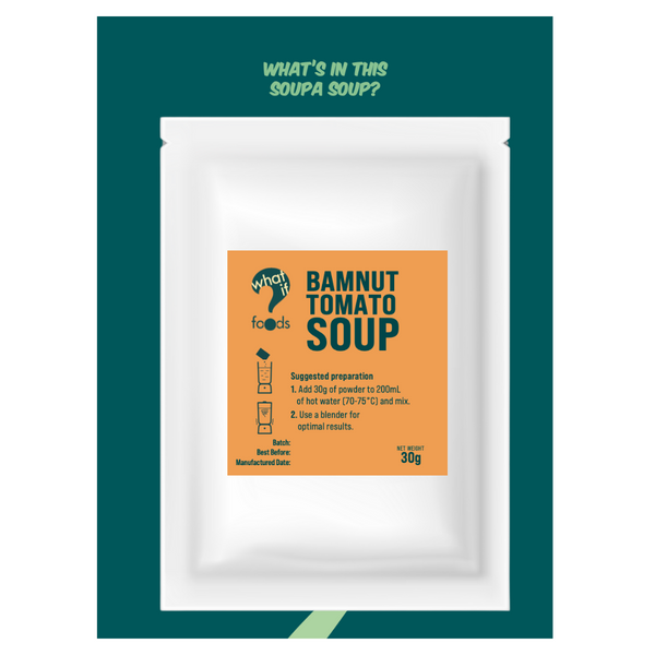 WhatIf Foods - BamNut Tomato Soup 30g - Everyday Vegan Grocer