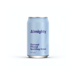 ALMIGHTY - Charcoal Filtered Sparkling Water 330ml - Everyday Vegan Grocer