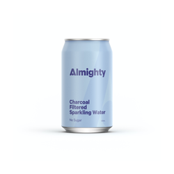ALMIGHTY - Charcoal Filtered Sparkling Water 330ml
