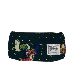 Carousel Horse (Green) Pouch - Medium