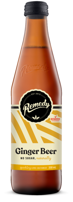 Remedy Soda - Ginger Beer 330ml