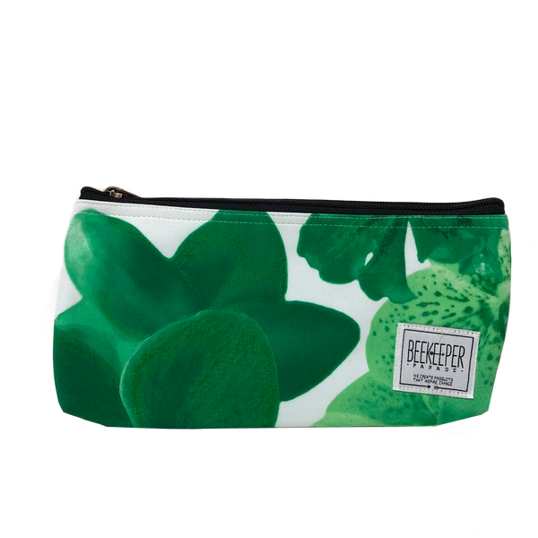 Green Orchid Pouch - Large - Everyday Vegan Grocer