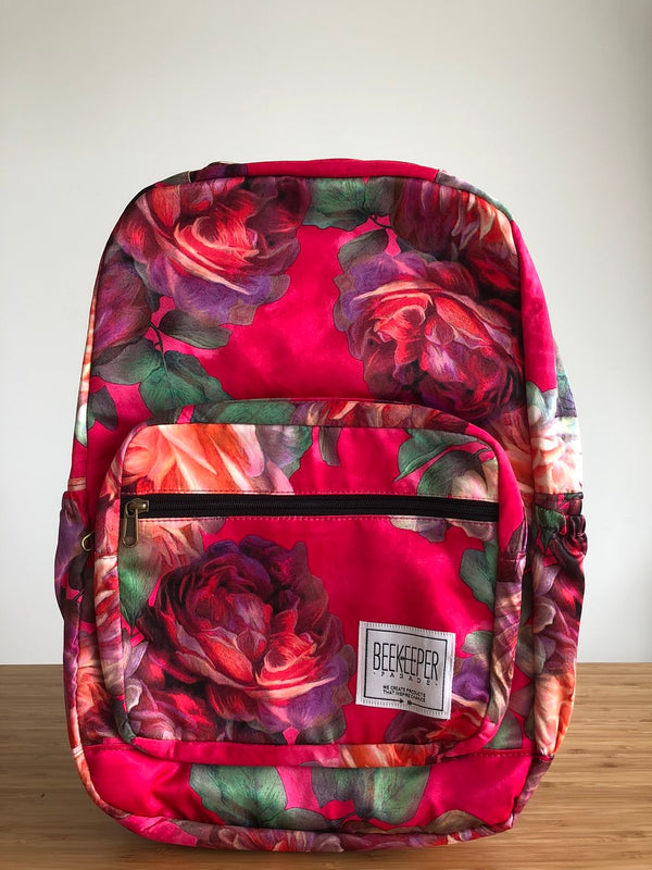 Celestial Flower Royal Backpack (Masterpiece) - Everyday Vegan Grocer