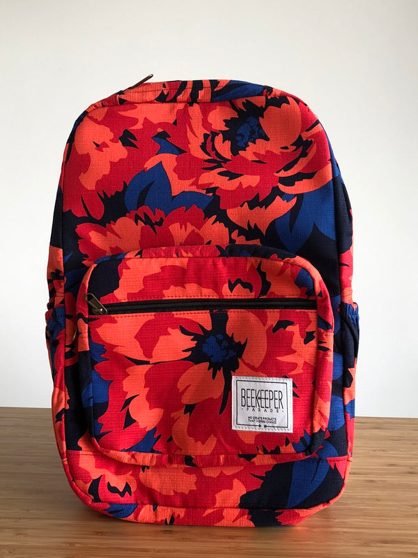 Redflower Royal Backpack - Everyday Vegan Grocer