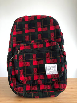 Green Tartan Royal Backpack