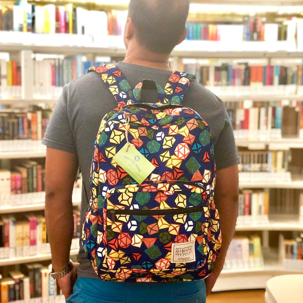 Diamond Dice Parade Backpack - Everyday Vegan Grocer