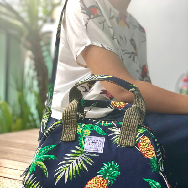 Pineapple Hand Bag - Everyday Vegan Grocer