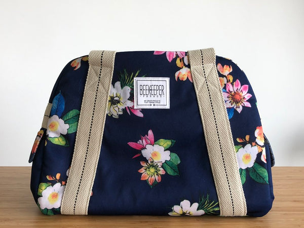 Lotus Weekender Bag (Medium) - Everyday Vegan Grocer