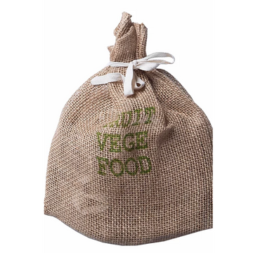 100% Jute Mesh Produce Bag - Apple Green Duck