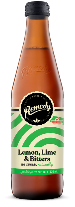 Remedy Soda - Lemon, Lime & Bitters 330ml