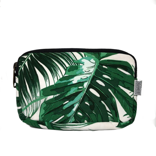 Monstera Plant Passport plus Phone Pouch - Everyday Vegan Grocer
