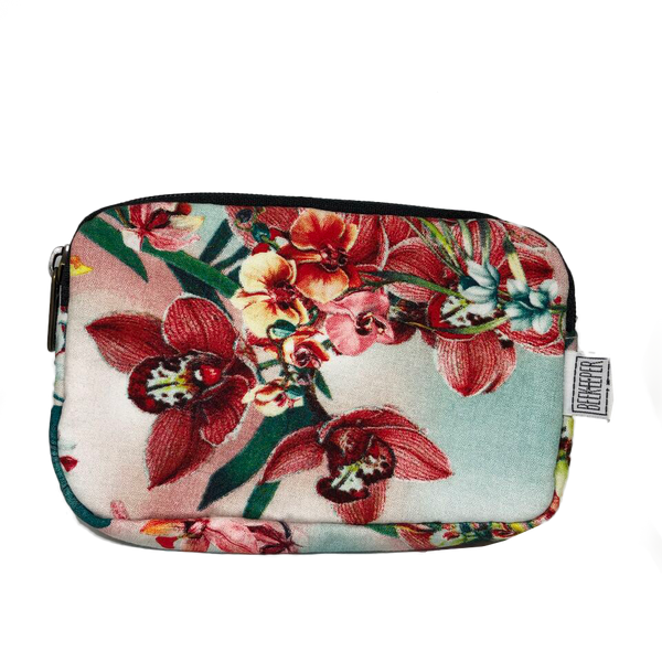Orchid Passport plus Phone Pouch - Everyday Vegan Grocer