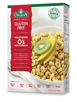 Orgran - Multigrain Breakfast O's with Quinoa 300g