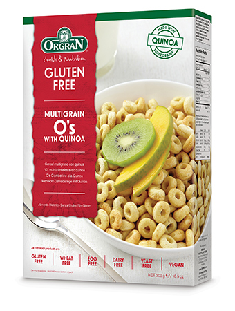 Orgran - Multigrain Breakfast O's with Quinoa 300g - Everyday Vegan Grocer